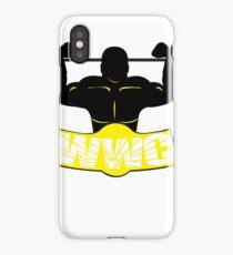 WWC Clean Logo Yellow/Black iPhone Case/Skin