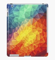 Abstract Multi Color Cubizm Painting iPad Case/Skin