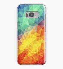 Abstract Multi Color Cubizm Painting Samsung Galaxy Case/Skin