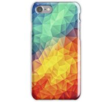 Abstract Multi Color Cubizm Painting iPhone Case/Skin