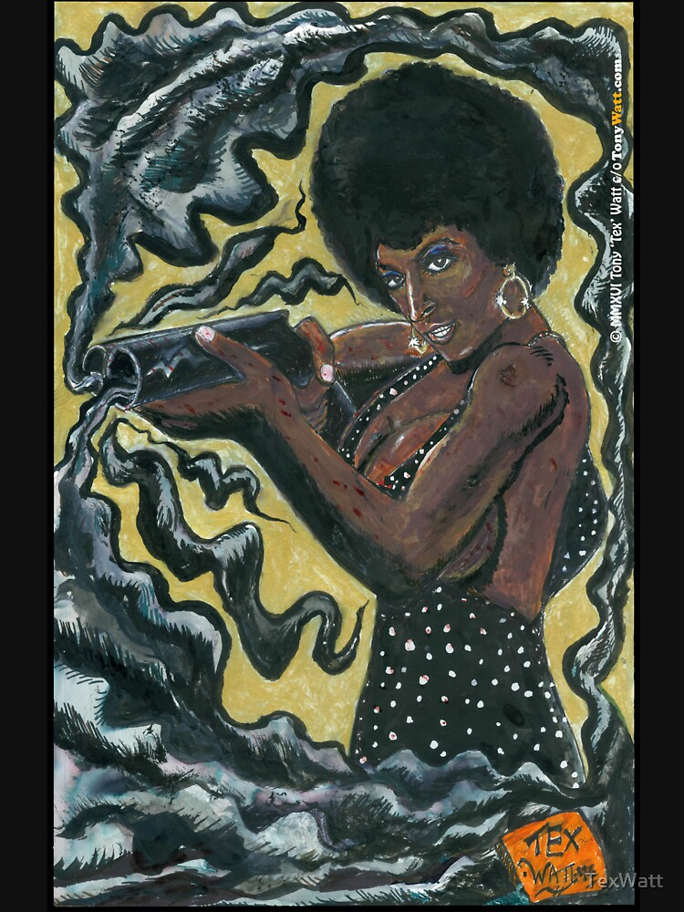 Bad Girls of Motion Pictures #2 (of 9)- Coffy by TexWatt