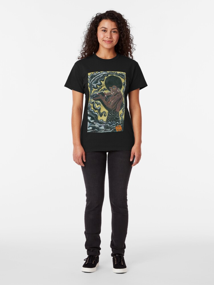 Alternate view of Bad Girls of Motion Pictures #2 (of 9)- Coffy Classic T-Shirt