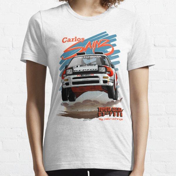 Carlos Sainz- Celica GT-Four Camiseta esencial
