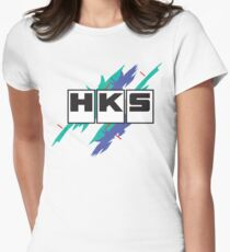 HKS Vintage Women's Fitted T-Shirt