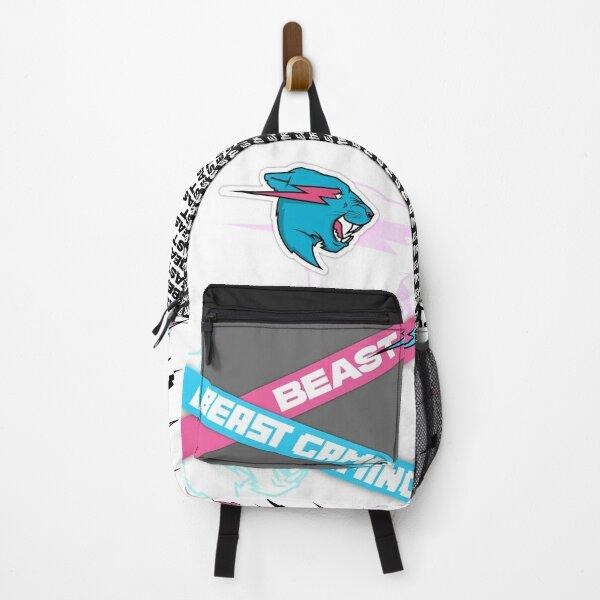 Mr. Beast /. Mr Blue Lion Beast (Premium Collection) - Useless Madala Backpack