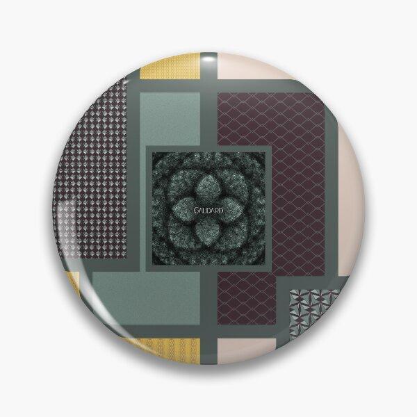 Contemporary Oriental Tile Pin