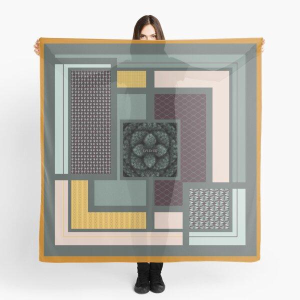 Contemporary Oriental Tile Scarf