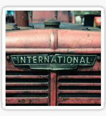 International Grille  Sticker