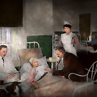 Doctor - Hospital - Bedside manner 1915 by Mike  Savad