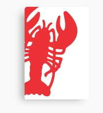 Red Lobster Canvas Print