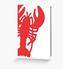 Red Lobster Greeting Card