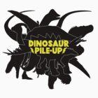 DINOSAUR PILE-UP by BlondeThunder