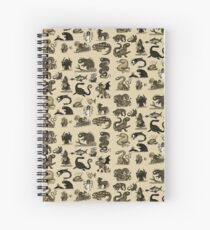 Sea Monsters Collection Spiral Notebook