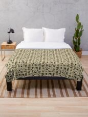 Sea Monsters Collection Throw Blanket