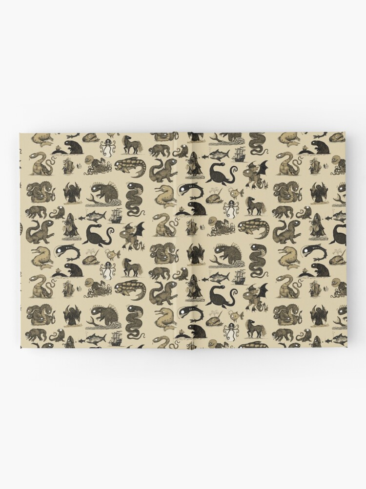 Alternate view of Sea Monsters Collection Hardcover Journal