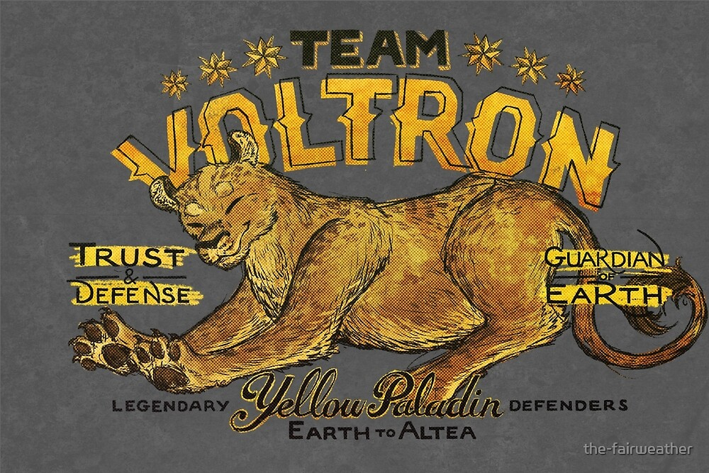 Yellow Paladin Vintage Shirt by the-fairweather