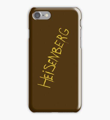 My name is Heisenberg - Graffiti Breaking Bad - iphone iPhone Case/Skin