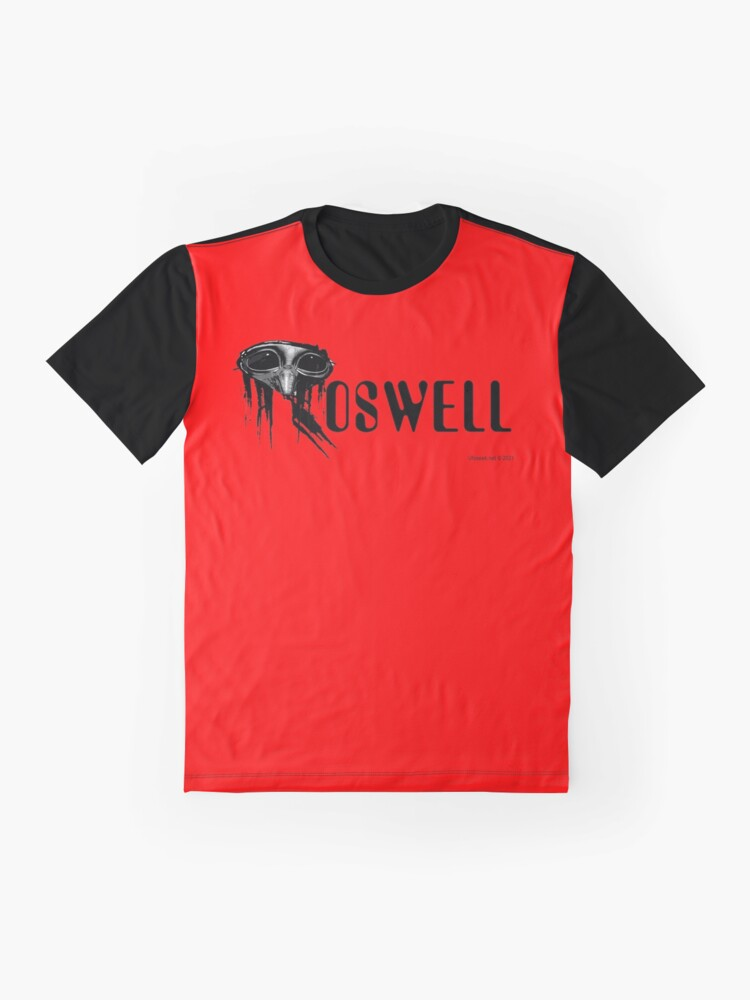 Alternate view of Roswell Alien Abstract Graphic T-Shirt