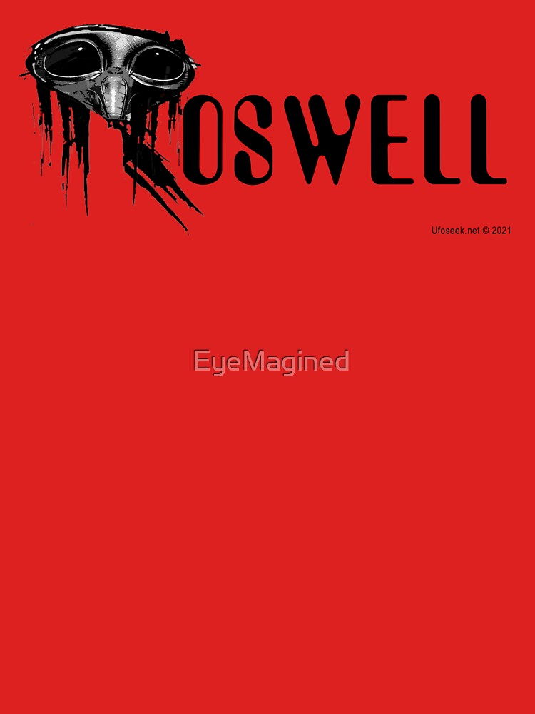 Roswell Alien Abstract by EyeMagined