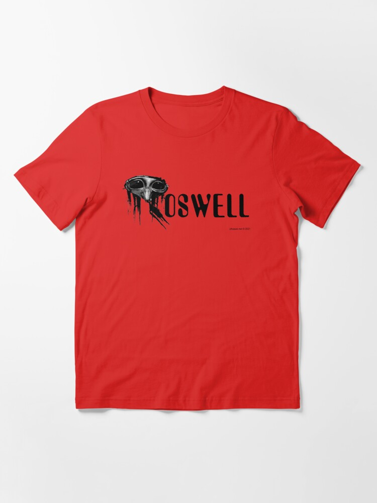 Alternate view of Roswell Alien Abstract Essential T-Shirt