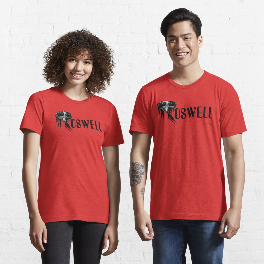 Roswell Alien Abstract Essential T-Shirt