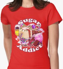 Sugar Addict Womens Fitted T-Shirt