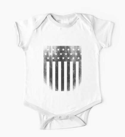 Distressed American Flag Kids Clothes
