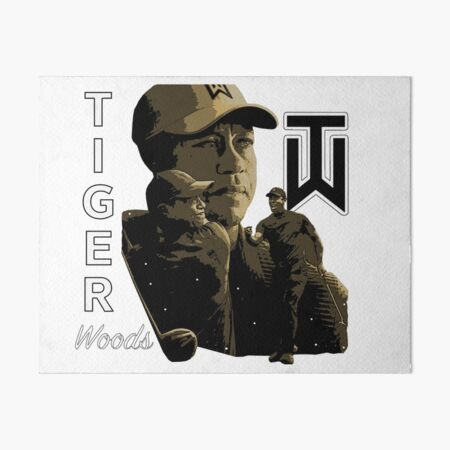 Tiger Golf Art Board Print
