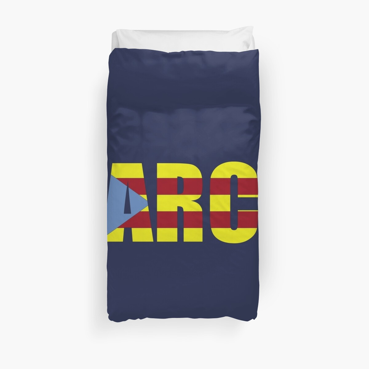 3e58f654fb8 Barca FC Barcelona Flag of Catalonia Football T-Shirts and Gifts by  Sago-Design