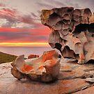 Remarkable Rocks Awakens, Kangaroo Island, South Australia by Michael Boniwell