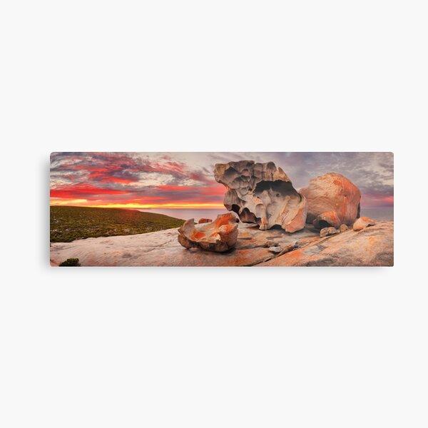 Remarkable Rocks Awakens, Kangaroo Island, South Australia Metal Print
