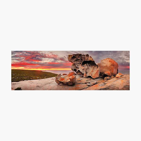 Remarkable Rocks Awakens, Kangaroo Island, South Australia Photographic Print