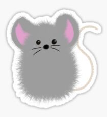 Floof Mouse Sticker