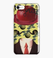 Tribute to MAGRITTE iPhone Case/Skin