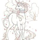 The Meadow Unicorn by Heather Hitchman