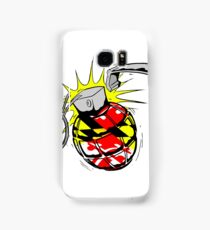 Maryland Flag Grenade Samsung Galaxy Case/Skin