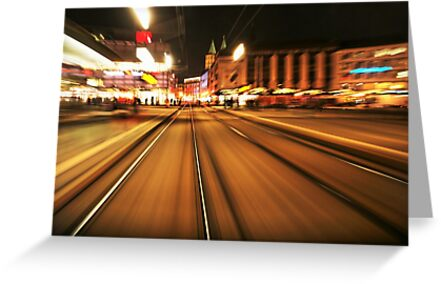 Speedy Night Stripes by Remo Kurka