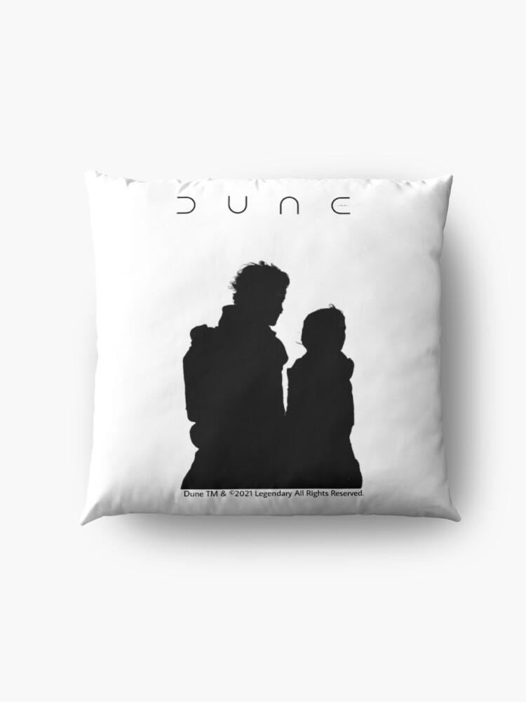 Alternate view of Dune Silhouette Art  Floor Pillow