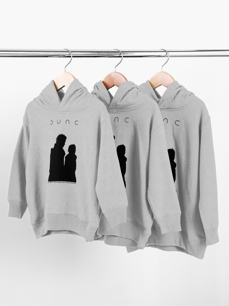 Alternate view of Dune Silhouette Art  Toddler Pullover Hoodie