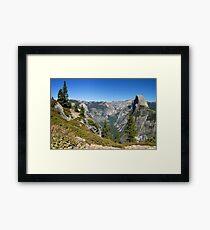 Yosemite Half Dome Framed Print