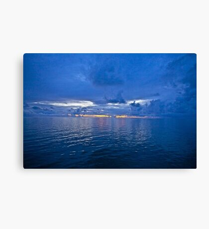 5 ★★★★★ . It's A Real Jewel 4 me ! Nightfall wonders  -  Baltic Sea. by Brown Sugar . 5 Star Excellence. Madame Valerie Anne Kelly ! Featured Inspired Art Group !  A belated thank you ! Canvas Print