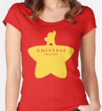 A Beach City Musical  Women's Fitted Scoop T-Shirt