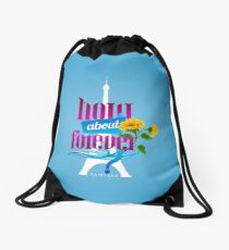 How About Forever? Drawstring Bag