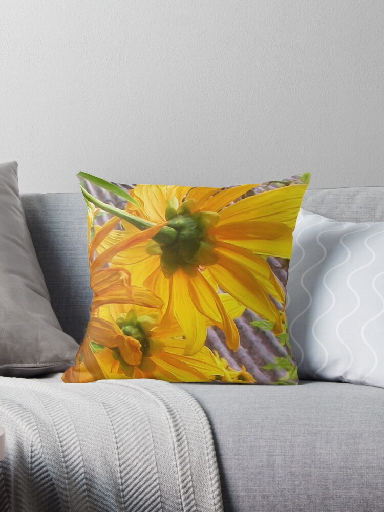 Yellow flowers by AlldogsDesigns