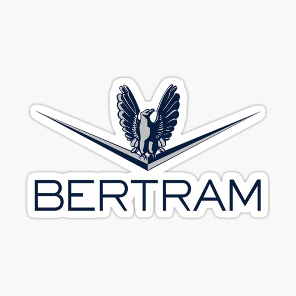 Bertram Yachts Sticker