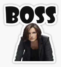 Liv is Boss Sticker