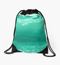 Sea Floor  Drawstring Bag