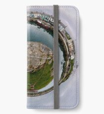 Hurry Head Harbour, Carnlough, County Antrim - Sky out iPhone Wallet/Case/Skin