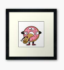 Silly Churro Framed Print