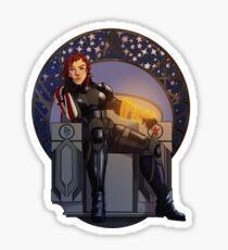 Hero of the Galaxy Sticker